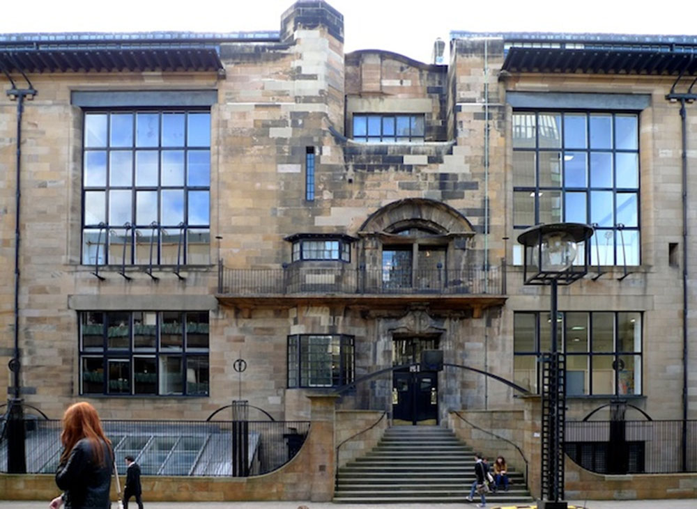 Mackintosh Glasgow School Of Art Travel Design Impressions