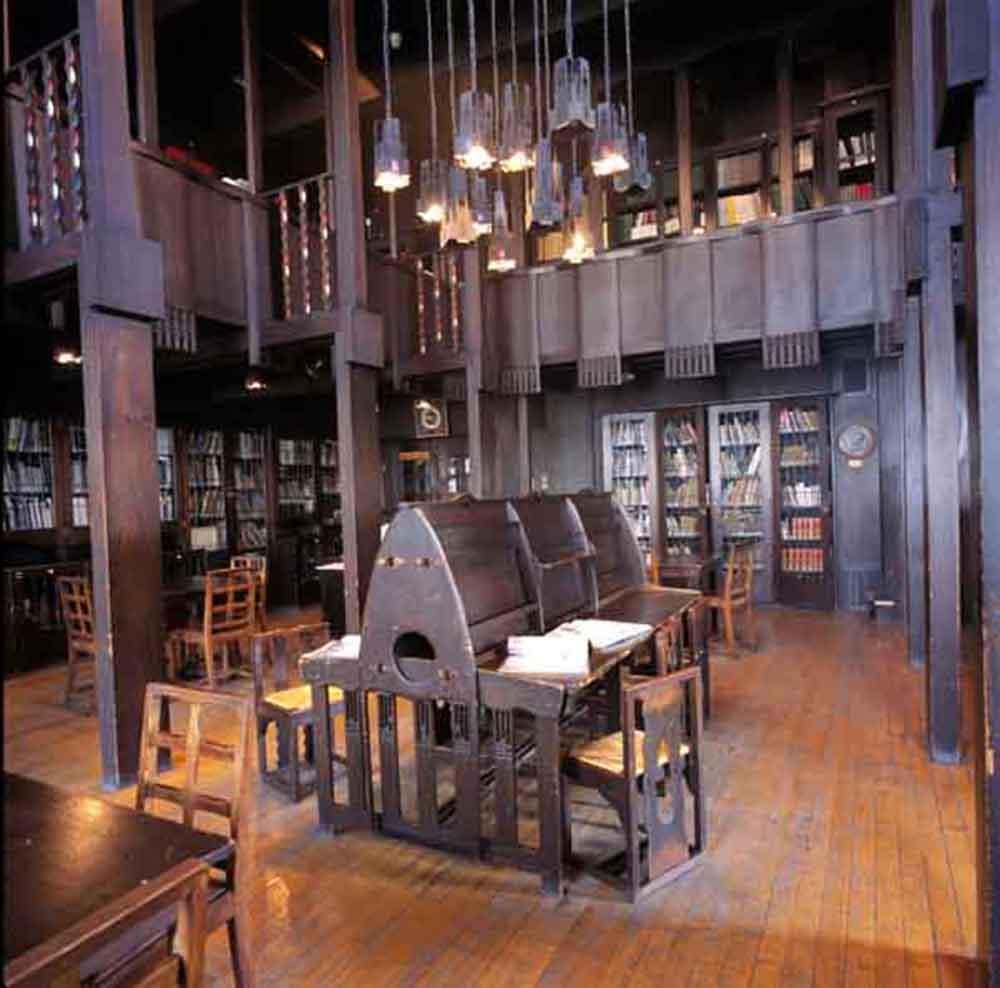 Mackintosh Glasgow School Of Art Travel Design Impressions