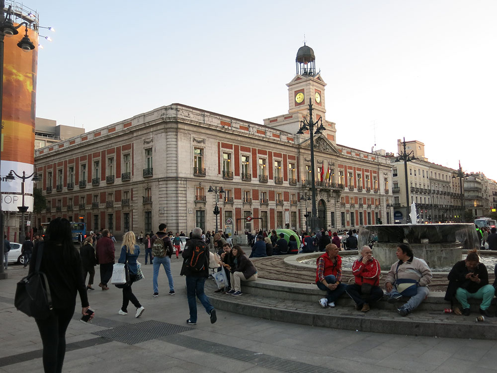 Madrid plaza del sol plaza mayor palacio real travel for Eventos plaza del sol