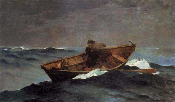 Winslow_Homer_Lost_on_the_Grand_Banks_1885