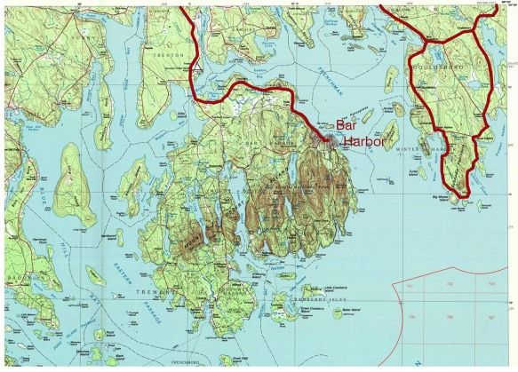 3_acadia-topo-map_MtDesertIsland_ArrivalRoute_1000